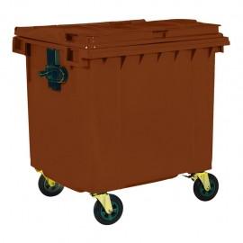 Пластмасов контейнер тип Ракла с вместимост 1100 литра БИО